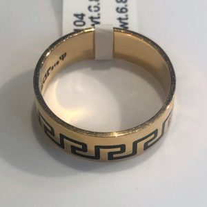 The versace ring