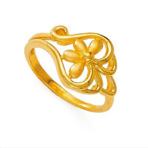 Four leaf style ring