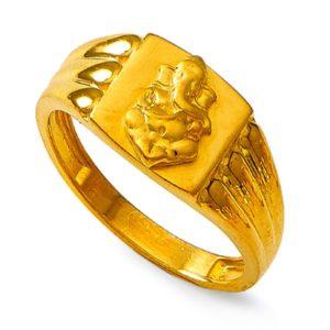Lord ganesh idol ring
