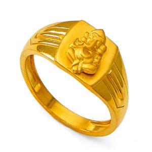 Vighnaharta lord ganesha Ring
