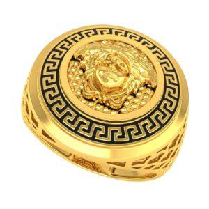 Versace charm ring