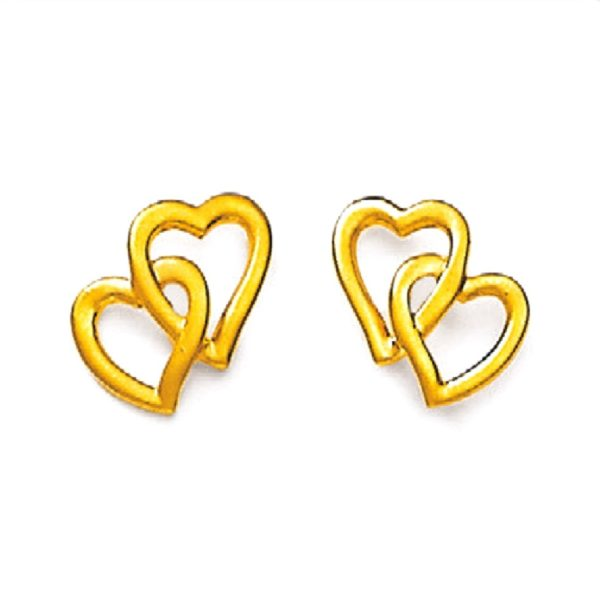 3D hearts tops