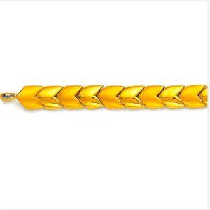Chislled bracelet