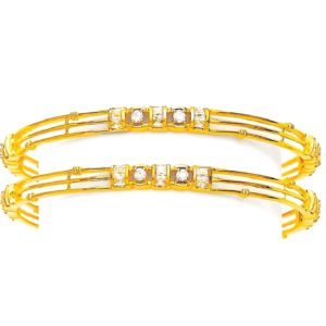 Classic glitter bangles