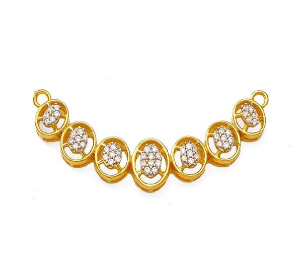 Delightful mangalsutra pendant