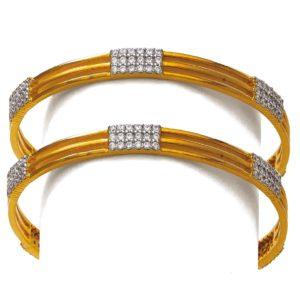 Glitering bangles