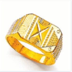 Cross cut ring
