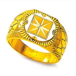 Cube star ring