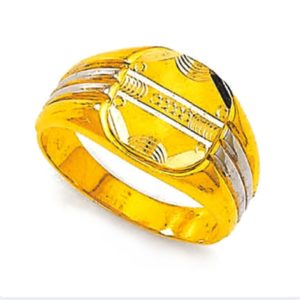 Oval cross track ring